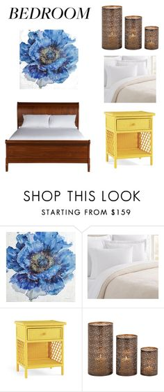 """""""my bedrom style"""" by yiyo16 ❤ liked on Polyvore featuring Pier 1 Imports, Pottery Barn, Serena & Lily and Ethan Allen"""