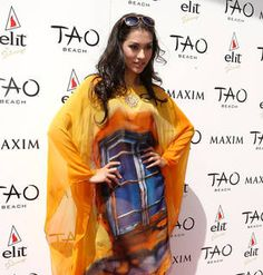 True Blood's Janina Gavankar in Crazy-Colored Tunic: Hot or Not