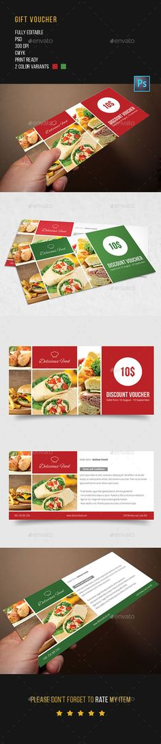 Food Gift Voucher  Gift Vouchers Food Gifts And Print Templates