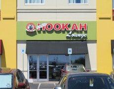 Starbuzz Hookah Lounge Channel Letters & Push Thru Cabinet Channel Letter Signs, Hookah Lounge, Signage, Las Vegas, Lettering, Cabinet, Clothes Stand, Last Vegas, Closet