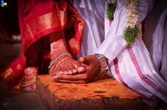 South Indian wedding tradition | bride and groom