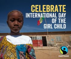Happy Day of the Girl! Click the Pin to read how your coffee and chocolate purchases can affect equality for young women around the globe! International Day, Women's Rights, Media Center, Ladies Day, Happy Day, Fair Trade, Young Women, Equality, Globe