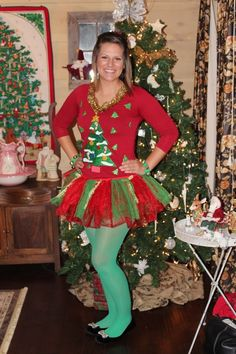 Ugly Christmas Sweater Party 2012