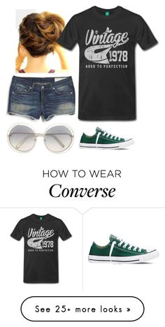 """The Day Before My Birthday"" by mountain-girl-lynn on Polyvore featuring Converse and Chloé"