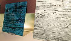 Wood Textures in Glass Design | Joel Berman Glass Studio | #NeoCon2015 #NeoConography
