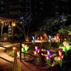 Today, we will show you how you can make your home much easier to see, without compromising your security. Dim Lighting, Outdoor Lighting, Solar Flower Lights, Solar Garden Stakes, Traditional Lanterns, Lily Garden, Wall Lantern, Exterior Lighting, Holiday Lights
