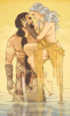 """My sun and stars...moon of my life.""     danerys and drogo were my favorite story"