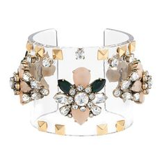This Jeweled cuff caught our eye! Create this with many different embellishments for many different affairs. If it's a destination wedding or honeymoon, call us! www.destinationweddings.travel wedding and honeymoon specialist PJ