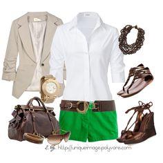 love the green shorts