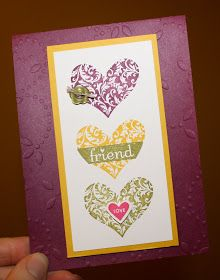 I'm part of a card club and we made these last week.  I love the flower pops.  I'm making them with my daughters class this week. I got some...
