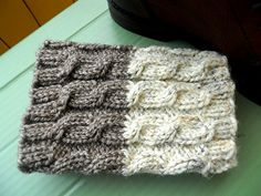 READY TO SHIP Knitted Boot cuffs Taupe by KnittingsWithSense