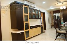 trendy crockery unit designs - Google Search