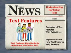 Text features powerpoint by Teranden, via Slideshare