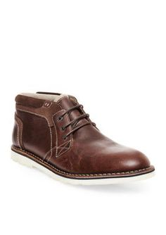 Steve Madden Wood Inflict Lace Up Boots