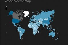 JQVMap is a jQuery plugin that renders Vector Maps. It uses resizable Scalable Vector Graphics (SVG) for modern browsers like Firefox, Safar...