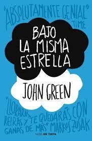 """Bajo la misma estrella"" de John Green. Ficha elaborada por Alba Blázquez."