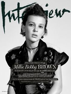 'Eleven' From Stranger Things Looks Seriously Badass On Her First Ever Magazine Cover And She's Only 12