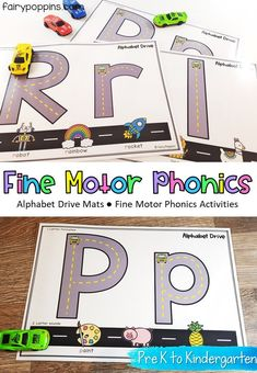 Phonics Fine Motor Activities {Beginning Sounds}