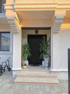 Proiect Casa Rezidentiala Otopeni – Profile Decorative Home Gate Design, Gate House, Architectural Elements, House Painting, Garage Doors, Exterior, Outdoor Decor, Modern, Home Decor