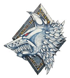 Space Wolves Badge - Loyalist