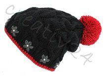 Bommelmütze - Schwarzwaldmädel Winter Hats, Beanie, Etsy, Vintage, Fashion, Craft Gifts, Schmuck, Moda, Fashion Styles