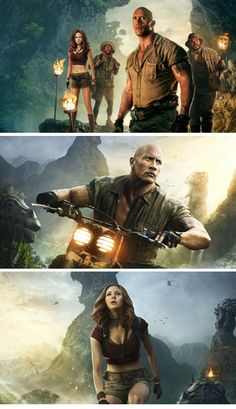 Jumanji Welcome to the Jungle Wallpapers Collection 4K HD Free Download