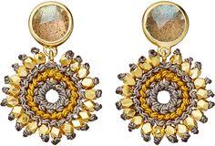 Astley Clarke Biography Calypso Sonatina Drop Earrings - for Women