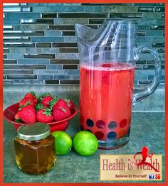 Strong and Beyond: Strawberry Lemonade