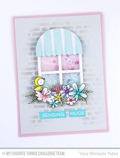 Birds of Paradise, Blissful Blooms, Label Maker Sentiments, Sunflower Sweetheart, Boutique Window Die-namics - Vera Wirianta Yates  #mftstamps