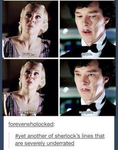 "Underrated lines from ""Sherlock"""