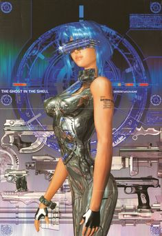 Rogue Telemetry - y2kaestheticinstitute:   Ghost in the Shell 1.5:...