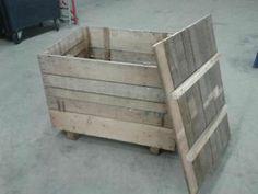 ≥ Te koop zware houten kisten met deksel - Kratten en Dozen - Marktplaats.nl