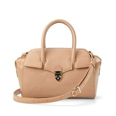 Fast Delivery, Secure Shopping And A 30 Day No Quibble Guarantee. Get The Mini Berkeley Bag In Deer Saffiano Today. London Today, Aspinal Of London, Leather Handbags, Deer, Purses, Lady, Mini, Classic, How To Make