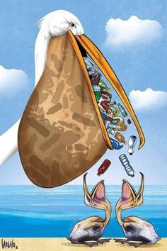 History, Politics, technology and cartooning CARTOONS Save the Oceans, vasco gargalo Save Planet Earth, Save Our Earth, Save The Planet, Ocean Pollution, Plastic Pollution, Art Environnemental, Earth Drawings, Satirical Illustrations, Meaningful Pictures