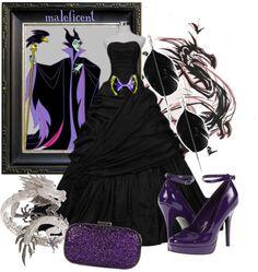 """Maleficent"" by princesschandler on Polyvore"