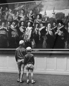 Fritz Henle - Holland Museum c. 1955