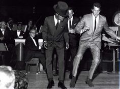 Rat Pack Dance Pack - Sammy and Dean during a performance.