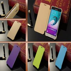 12 color luxury J320 case for Samsung Galaxy J3/J3 2016 thin leather case pink blue green for phone Samsung Galaxy J3 case cover