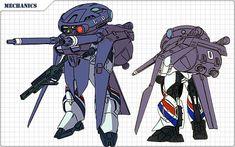 機甲戦記ドラグナーWeb [メカニック紹介] Super Robot, Character Design Inspiration, Armour, Darth Vader, Animation, Concept, Robotics, Metal, Fictional Characters