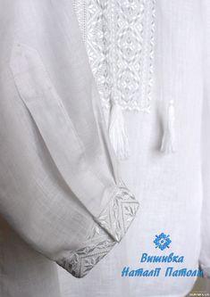 Чоловіча вишита сорочка білим по білому — SKRYNYA.UA a7c194b976019