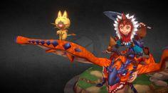 Monster Hunter Stories by technoir