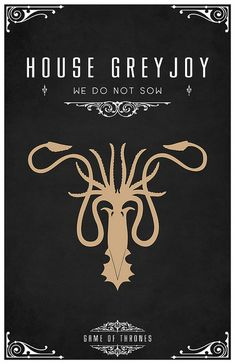 from Thomas Garely #liquidsouldesign on flickr! Check out all his cool sigils. He has a super minimalist series that is also awesome. #fanart #gameofthrones  // pinned by @welkerpatrick