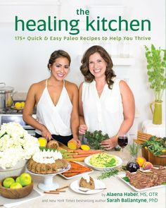 If you think the merest whisper of Dr Sarah Ballantyne (The Paleo Mom) and Alaena Haber of Grazed and Enthused joining forces on a cookbook is enough to prick up your ears, then the sight of their collaborative cookbook in the hands is enough