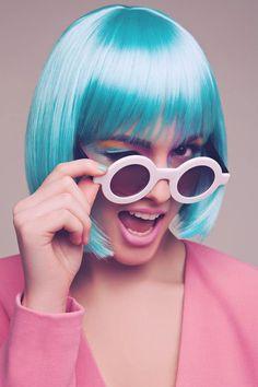 Ideas For Photography Fashion Pink Pastel Medium Scene Hair, Short Scene Hair, Indie Scene Hair, Scene Bangs, Hair Medium, Outfit Essentials, Girl Photography, Fashion Photography, Headshot Photography