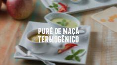 Purê de maçã termogênico  | Receitas Saudáveis - Lucilia Diniz