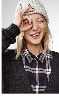 We're loving plaid!
