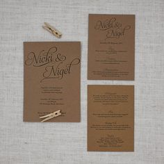 Simple Script Rustic Lace & Twine Wedding Invitation http://bemyguest.co.nz/archives/item/rustic-lace-twine-wedding-invite/