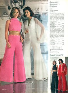 1970s Jump Suits