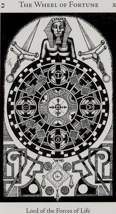 hermetic tarot wheel of fortune - Google Search