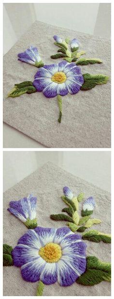 刺绣朝颜来自手工也是一种时尚的图片分享-堆糖;